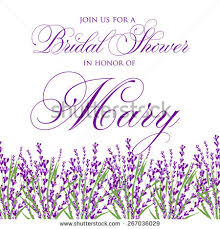 Lavender Wedding Invitations Lavender Wedding Invitation Stock Images Royalty Free Images