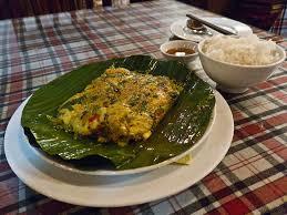 cuisine vapeur recette recette nga baung doke maquereau cuit à la vapeur au lait de