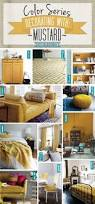 color series decorating with mustard