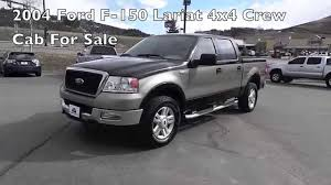 f150 ford trucks for sale 4x4 2004 ford f 150 lariat crew cab 4x4 truck for sale