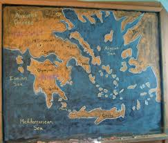 Ancient Map Of Greece by Map Of Greece 5th Grade Ancient Civilizations At Highland Hall