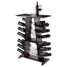 marlo wine rack wood espresso winsome target