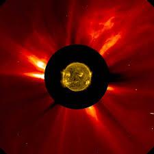 hinode soho paint asymmetrical picture of the sun nasa