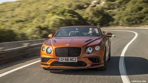 2018 bentley continental gt supersports convertible color orange