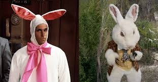 easter bunny costume 10 rabbits and actors in bunny costumes that hopped up on television