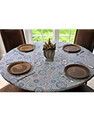amazon com round tablecloths kitchen u0026 table linens home