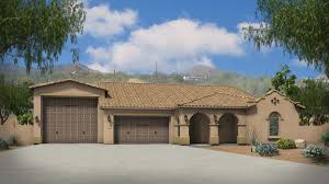 Home Plans With Rv Garage by Agave With Rv Garage Plan 5551 Estates At The Meadows Maracay Homes