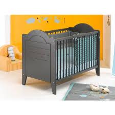chambre bébé grise et lit bébé 60 x 120 cm doly gris lit bébé chambre enfant literie