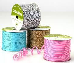 cotton ribbon 100 cotton ribbon adds a look to your gift wrapping