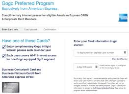 Business Platinum Card Amex 10 Free Gogo Wifi Passes With The Amex Business Platinum Card