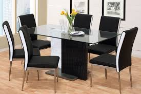 black dining room table set dining room astonishing black and white dinette set white dining