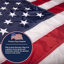 How To Dispose An American Flag Amazon Com American Flag By Pioneer Flag Company Dupont Nylon