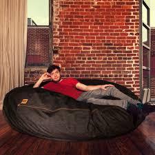 Where Can I Buy Bean Bag Chairs Jaxx Denim Cocoon 6ft Bean Bag Chair At Brookstone U2014buy Now