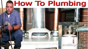 water heater in basement replacement full tutorial youtube
