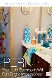 Kids Bathroom Makeover - project home redecorate perk up your kid u0027s bathroom with fun