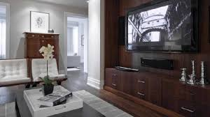 Modern Media Room Ideas - built in entertainment center design ideas