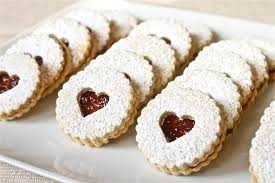 linzer cookies cook diary