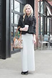 7 sophisticated ways to wear maxi skirts fashion