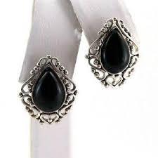 onyx earrings black onyx earrings ebay
