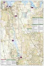 Promised Land State Park Map by Lake Mead National Recreation Area National Geographic Trails