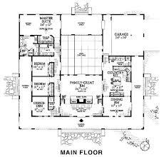 Mediterranean House Plans With Courtyard 19 Best Home Hacienda Style Images On Pinterest Haciendas