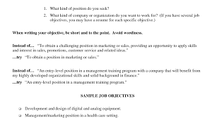 General Resume Objectives Samples by Format Career Objective Examples For Resume Charming Examples Of