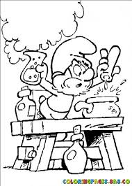 smurf coloring pages 5 picture of papa smurf coloring pages u003e u003e disney coloring pages