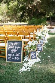Outdoor Backyard Wedding Ideas by Best 25 Outdoor Wedding Isle Ideas On Pinterest Wedding Isle