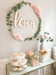 wedding shower decorations diy hula hoop sign diy bridal shower decor bridal shower