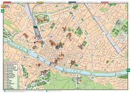 Italy Cities Map by Florence Italy Map High Resolution Large Map Of Florence