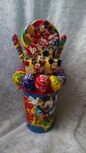 lollipop bouquet connie s creations mickey mouse lollipop bouquet online store