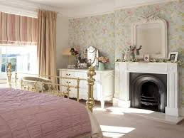 beautiful bedroom wallpaper shabby chic bedroom ideas country