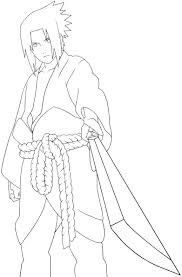 a very cool person sasuke coloring pages naruto pinterest