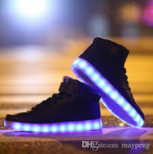 light shoes for women new 2016 led light up shoes men women glowing sneakers fashion light