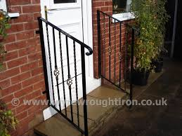 wyre wrought iron handrails balustrades ornamental safety