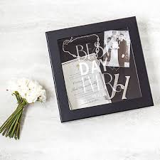 wedding wishes keepsake shadow box personalized best day wedding wishes keepsake shadow box