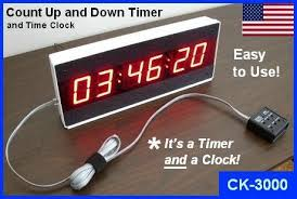 large display digital led timer countdown clock