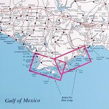 port st fl map spot fishing map n230 port st joe to apalachicola