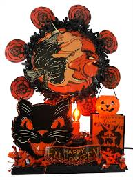 vintage halloween tabletop decor traditions