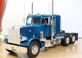 semi truck 1 25 peterbilt semi truck pro built revell ebay scale models
