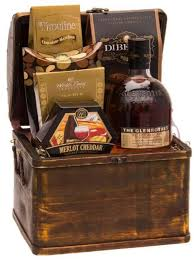 whiskey gift basket cask scotch gift basket by pompei baskets