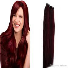 foxy locks hair extensions 99j wine hair extensions 100g in human hair