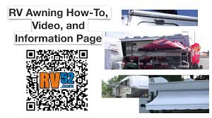 Best Way To Clean Rv Awning Rv Awning Master How To Page Videos Articles Manuals And More
