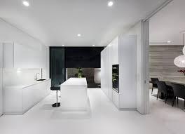 Shiny White Kitchen Cabinets Kitchen Impressive White Kitchen Design With Glossy White