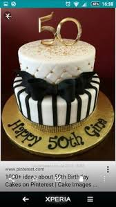 black white and gold 60th birthday cake terrific custom cakes