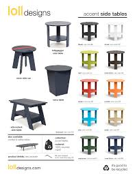 Adirondack Coffee Table - modern outdoor side table adirondack style loll designs