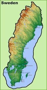 map of sweden sweden maps maps of sweden