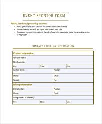 sponsorship form 3 jf 2009 sponsorship opportunity form groups