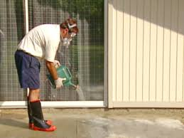 How To Stain Concrete Patio Yourself How To Stain Concrete How Tos Diy
