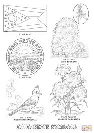 ohio state bird coloring page in coloring pages eson me